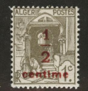 ALGERIA Scott P2 MH* Newspaper stamp