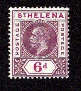 ST. HELENA  SC# 74  F/MOG