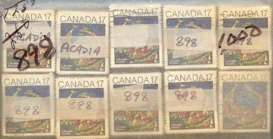 Canada - 1981 Acadian Congress X 1000 used #898