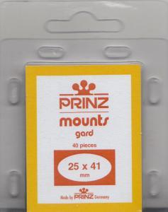 PRINZ BLACK MOUNTS 25X41 (40) RETAIL PRICE $3.99