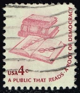 US #1585 Books; Bookmark & Eyeglasses; Used (0.25)
