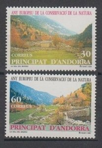 1995 Andorra sp 241-242 Landscape