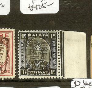 MALAYA   JAPANESE OCCUPATION (P2601B)  PAHANG 1C  VIOLET CHOP SGJ176B  MNH