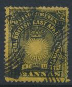 British East Africa Company  SG 7c  SC#17  Used - perf 14 -  see details