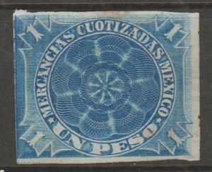 Mexico fiscal cinderella Revenue stamp- 8-21-b45