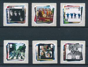 [97776] Great Britain 2007 Music The Beatles Self Adh. MNH