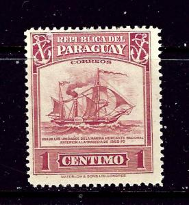 Paraguay 435 MLH 1946 Ship