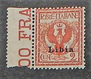 Libya 2. 1912-22 2c Orange brown, NH