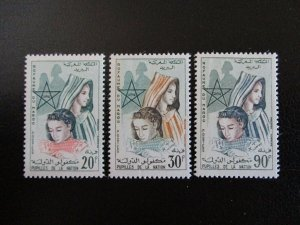 Morocco #62-64 Mint Never Hinged (L7H4) WDWPhilatelic