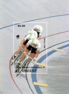 Union Island Seoul Olympics 1988 SS Cycling MNH VF