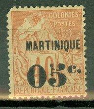 AH: Martinique 16 mint CV $65