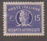 Italy EY8 Italia 1949