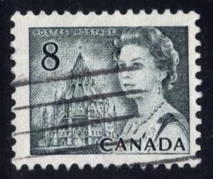 Canada #544p Library of Parliament; used (0.25)
