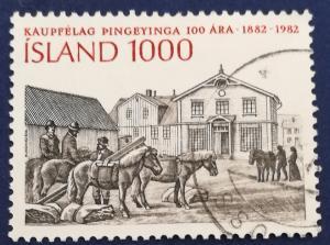Iceland Kaupfelag Thingeyinga Cooperative Society Centenary # 559 Used (I495)