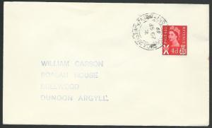GB SCOTLAND 1969 cover CAMUSTINIVAIG / PORTREE ISLE OF SKYE cds............55743