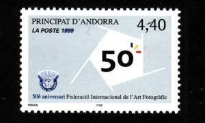 D1-French Andorra-Sc#513-unused NH set-1999-