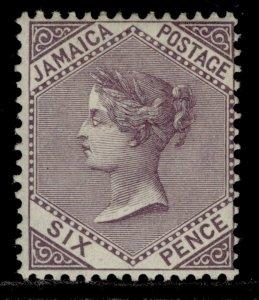 JAMAICA EDVII SG52, 6d lilac, M MINT. Cat £35. ORDINARY