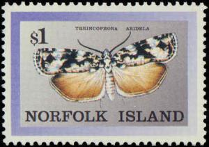 1988 Norfolk Islands #448-451, Complete Set(4), Never Hinged