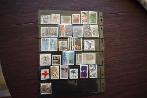 GERMANY COLLECTION 1988 YEAR SET  USED  CAT VALUE OVER 29.00