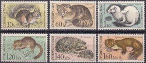 Czechoslovakia #1497-1502 MNH CV $4.90 (Z5362)