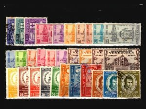 Venezuela 31 Mint and Used, some faults - C2188