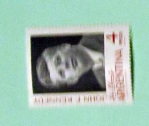 Argentina - 760, MNH Comp. John F. Kennedy. SCV - $0.50