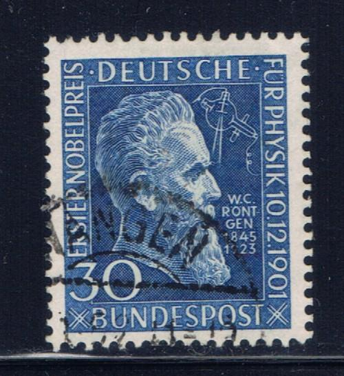Germany 686 Used 1951 Roentgen