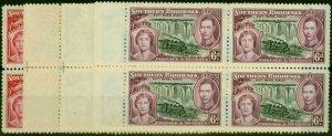 Southern Rhodesia 1937 Coronation Set of 4 SG36-39 Fine MNH Blocks of 4