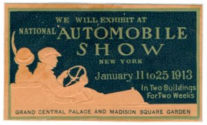 (I.B) US Cinderella : National Automobile Show (New York 1913)