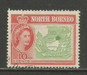 North Borneo    #284  Used  (1961)