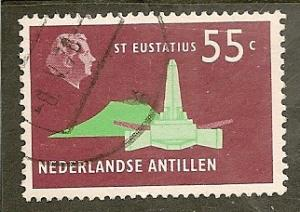 Netherlands Antilles  Scott    341   Obelisk   Used