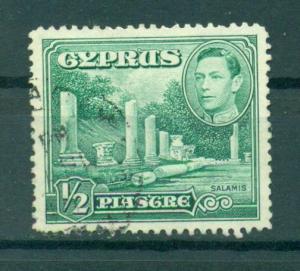 Cyprus sc# 144 used cat value $.50