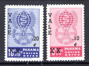 Panama C271-C272 Malaria MNH