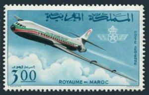 Morocco C14,MNH.Michel 576. Air Post 1966.Jet Plane.