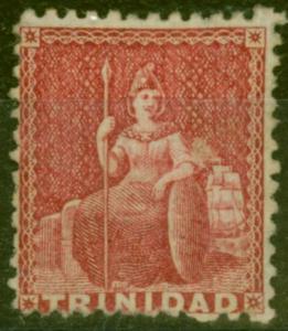 Trinidad 1863 Lake SG69 Fine Mtd Mint