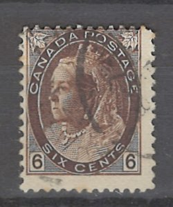 COLLECTION LOT # 3203 CANADA #80 1898 CV=$57.50
