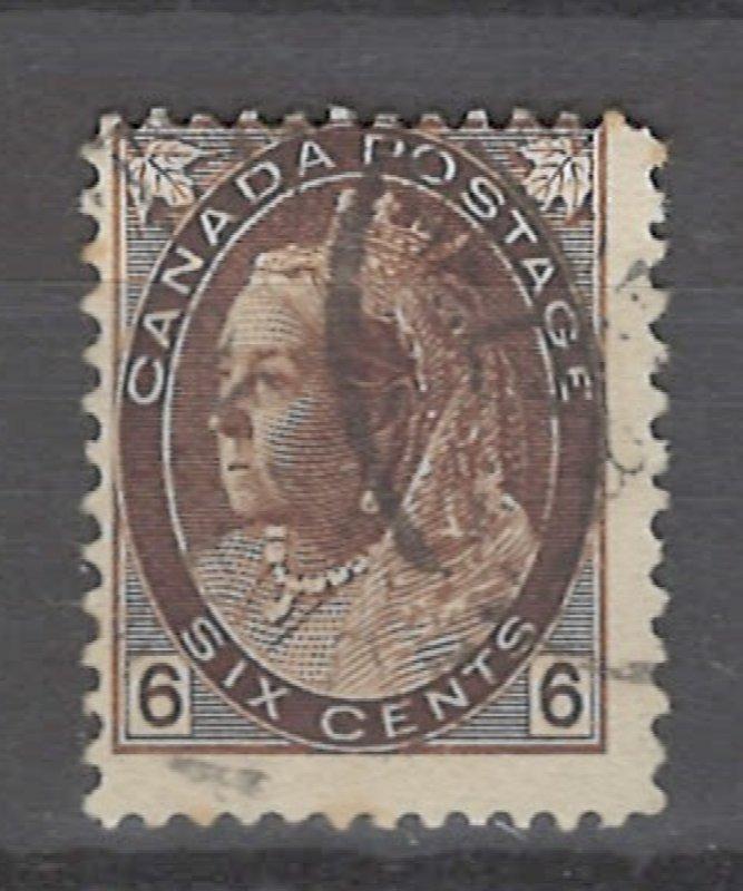 COLLECTION LOT # 3203 CANADA #80 1898 CV=$57.50