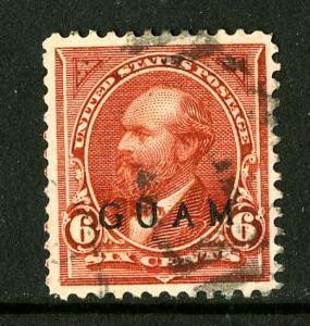 Guam Stamps # 6 SUPERB USED Scott Value $190.00