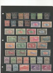Reunion stamp collection mostly mints