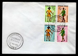 Togo - Sc #C222 & 223 -1974 UPU Centenary - Unaddressed First Day Cover