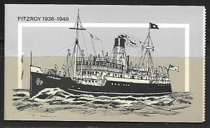 FALKLAND ISLANDS   MAIL SHIPS,  COMPLETE BOOKLET