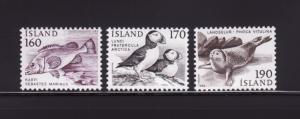 Iceland 534-536 Set MNH Animals