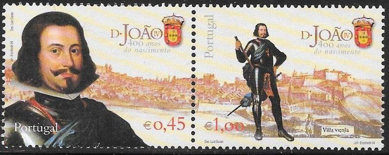 Portugal 2607 MNH - 400th Anniversary of the Birth of King John IV (1604-56)