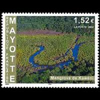 MAYOTTE 2002 - Scott# 176 Kaweni Swamp Set of 1 NH