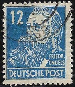 German Democratic Republic 1948 Scott# 10N33 Used
