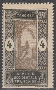 Dahomey #44 F-VF Unused   (S5913)