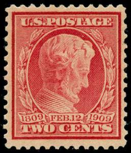 momen: US Stamps #369 Mint OG Sound