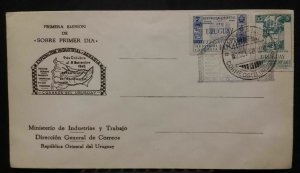 Uruguay 1948 Industrial and Agricultural Exhibitions Paysandu FDC