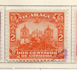 Nicaragua 1914-22 Early Issue Fine Used 2c. 323626