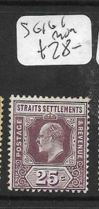 MALAYA STRAITS SETTLEMENTS (P0605B)  KE 25C  SG 161   MOG